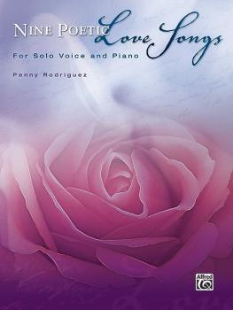 Nine Poetic Love Songs (For Solo Voice and Piano) (AL-00-32918)