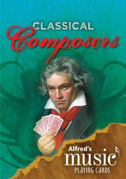 Alfred's Music Playing Cards: Classical Composers (12 Pack) (AL-00-39322)