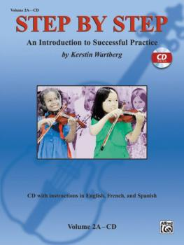 Step by Step 2A: An Introduction to Successful Practice for Violin (AL-00-25602)