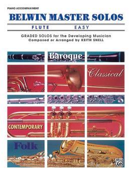 Belwin Master Solos, Volume 1 (Flute) (AL-00-EL03391)