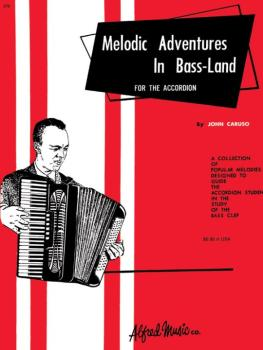 Palmer-Hughes Accordion Course - Melodic Adventures in Bassland (AL-00-276)
