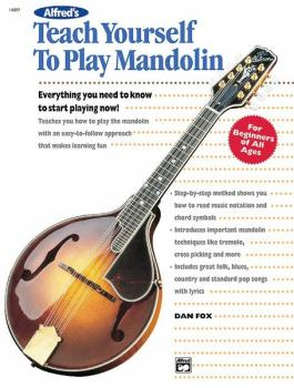 Alfred's Teach Yourself to Play Mandolin: Everything You Need to Know  (AL-00-14097)