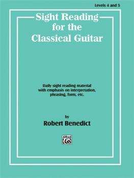 Sight Reading for the Classical Guitar, Level IV-V: Daily Sight Readin (AL-00-EL02943)