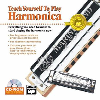 Alfred's Teach Yourself to Play Harmonica: Everything You Need to Know (AL-00-19387)