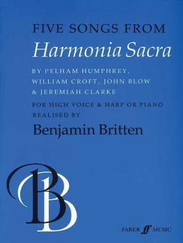 Five Songs from Harmonia Sacra (AL-12-0571517978)