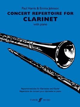 Concert Repertoire for Clarinet (AL-12-0571521665)