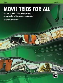 Movie Trios for All: Playable on Any Three Instruments or Any Number o (AL-00-33533)
