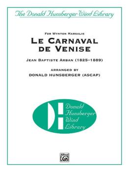 Le Carnaval de Venise (For Wynton Marsalis Trumpet Solo with Band) (AL-00-35428S)