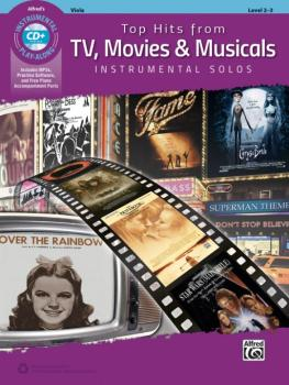 Top Hits from TV, Movies & Musicals Instrumental Solos for Strings (AL-00-45189)