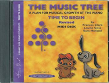 The Music Tree: GM Disk for Student's Book, Time to Begin: A Plan for  (AL-00-0961S)