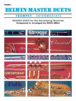 Belwin Master Duets (Trumpet), Intermediate Volume 1 (AL-00-EL03229)