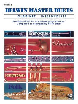 Belwin Master Duets (Clarinet), Intermediate Volume 2 (AL-00-EL03643)