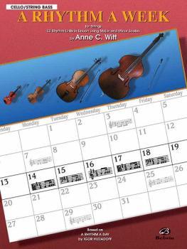 A Rhythm a Week: Based on <I>A Rhythm a Day</I> by Igor Hudadoff (AL-00-EL9805)
