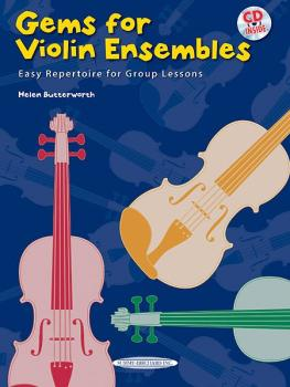 Gems for Violin Ensembles 1: Easy Repertoire for Group Lessons (AL-00-35171)