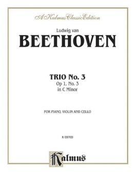Piano Trio No. 3 in C Minor, Opus 1, No. 3 (AL-00-K09709)
