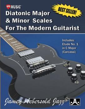 Diatonic Major & Minor Scales for the Modern Guitarist: Includes: Etud (AL-24-DMM)