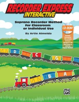 Recorder Express Interactive: Soprano Recorder Method for Classroom or (AL-00-44714)