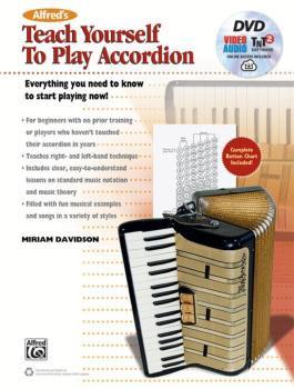 Alfred's Teach Yourself to Play Accordion: Everything You Need to Know (AL-00-44736)