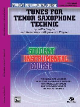 Student Instrumental Course: Tunes for Tenor Saxophone Technic, Level  (AL-00-BIC00338)