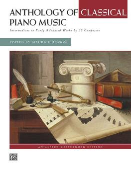 Anthology of Classical Piano Music: Intermediate to Early Advanced Wor (AL-00-14714)