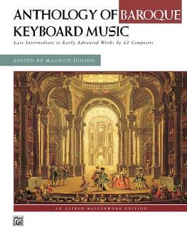 Anthology of Baroque Keyboard Music: Late Intermediate to Early Advanc (AL-00-4894)