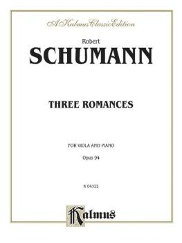Three Romances, Opus 94 (AL-00-K04322)