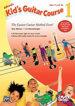 Alfred's Kid's Guitar Course 1: The Easiest Guitar Method Ever! (AL-00-30608)