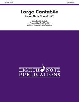 Largo Cantabile (from <I>Flute Sonata #1</I>) (AL-81-SS1134)