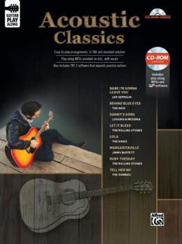 Acoustic Classics Guitar Play-Along (AL-00-45254)