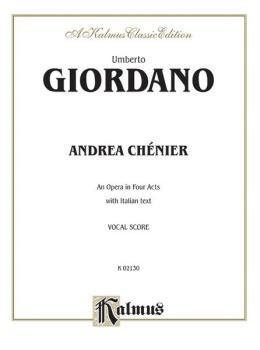 Andrea Chénier - An Opera in Four Acts (AL-00-K02130)