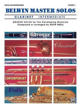 Belwin Master Solos, Volume 1 (Clarinet) (AL-00-EL03408)