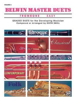 Belwin Master Duets (Trombone), Easy Volume 2 (AL-00-EL03651)