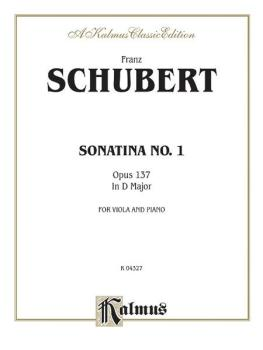 Sonatina No. 1 in D Major, Opus 137 (AL-00-K04327)