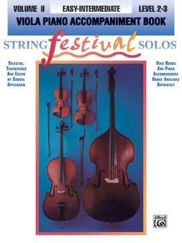 String Festival Solos, Volume II (AL-00-EL95105)