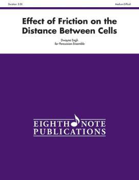 Effect of Friction on the Distance Between Cells (For 5 Players) (AL-81-PE1016)