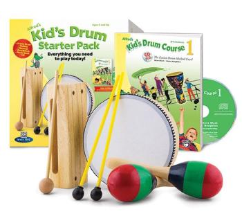 Alfred's Kid's Drum Course Starter Pack: Everything You Need to Play T (AL-00-42868)