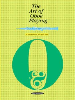 The Art of Oboe Playing (AL-00-0040)