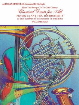 Classical Duets for All (From the Baroque to the 20th Century) (AL-00-EL96130)