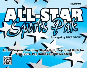 All-Star Sports Pak: An All-Purpose Marching/Basketball/Pep Band Book  (AL-00-MBF9512)