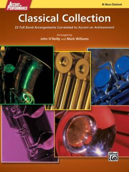 Accent on Performance Classical Collection: 22 Full Band Arrangements  (AL-00-41296)