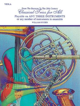 Classical Trios for All (From the Baroque to the 20th Century) (AL-00-EL96148)