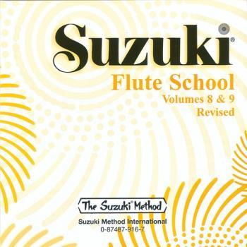 Suzuki Flute School CD, Volume 8 & 9 (Revised) (AL-00-0916)