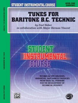 Student Instrumental Course: Tunes for Baritone Technic, Level I (AL-00-BIC00163A)