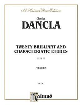 Twenty Brilliant and Characteristic Etudes, Opus 73 (AL-00-K03362)