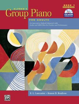 Alfred's Group Piano for Adults: Student Book 1 (2nd Edition): An Inno (AL-00-30368)