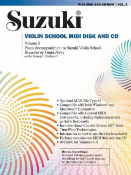 Suzuki Violin School, Volume 5 (AL-00-30450)