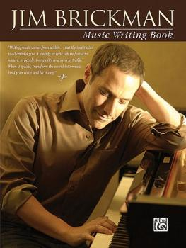 Jim Brickman Music Writing Book (AL-00-30554)