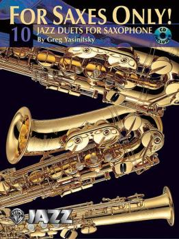 For Saxes Only! (10 Jazz Duets for Saxophone) (AL-00-0480B)