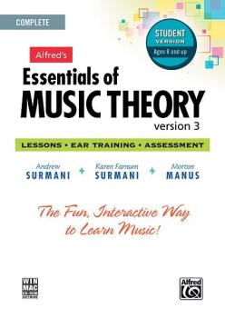 Alfred's Essentials of Music Theory: Software, Version 3 CD-ROM Studen (AL-00-34627)