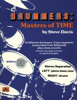 Drummers: Masters of Time: 13 Different Drummers, 17 Jazz Segments Tra (AL-24-DM)